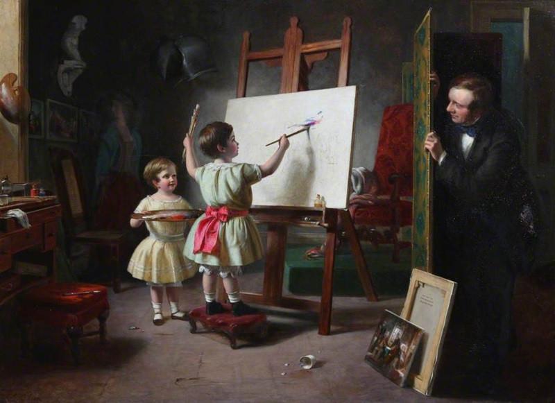 Мастерская художника