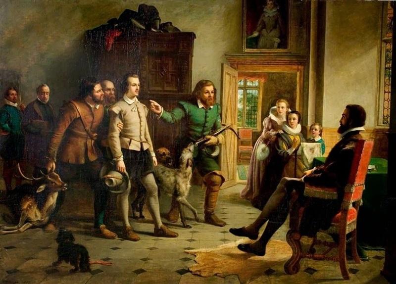 Шекспир перед сэром Томасом Люси