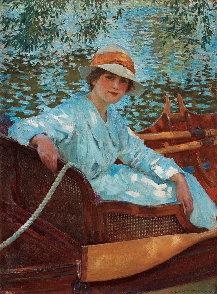 Летом в лодке