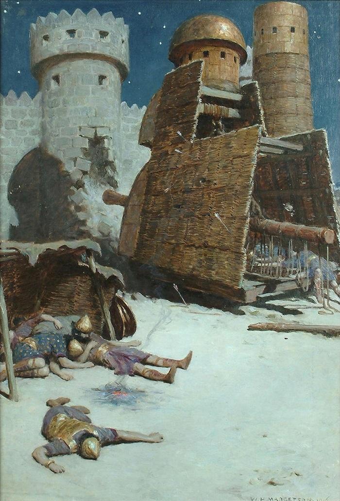 После осады