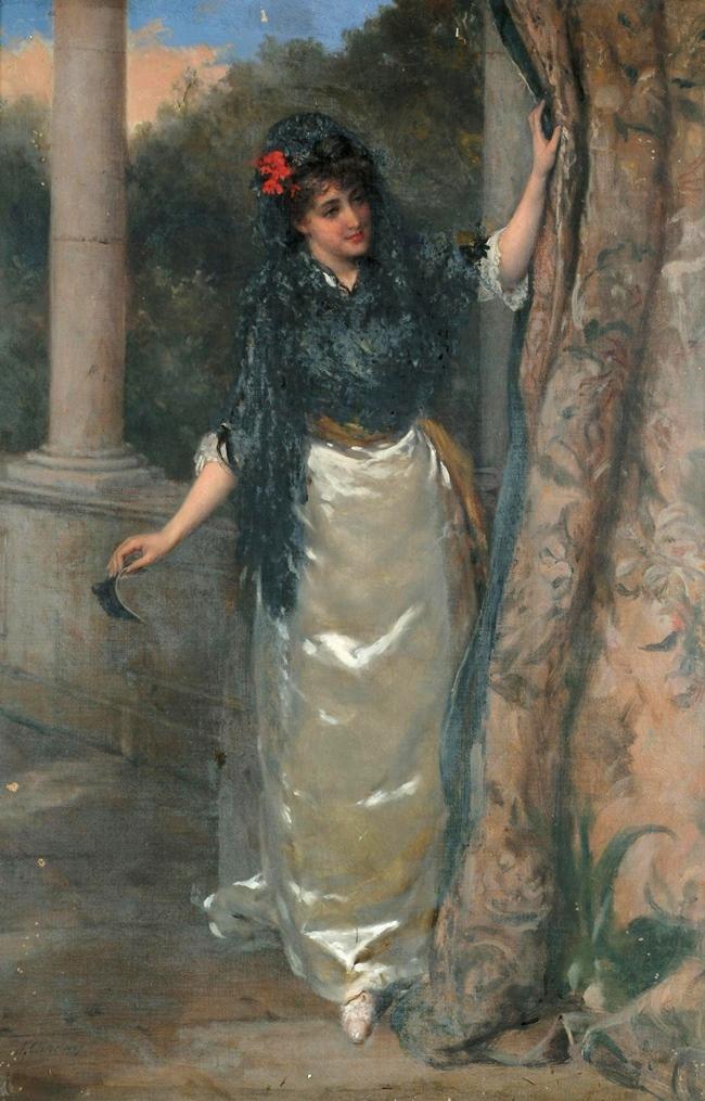 Испанская дама