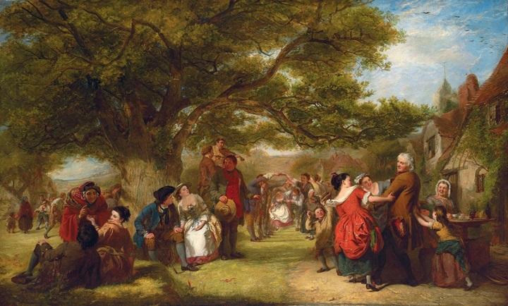 Английские игрища сто лет назад