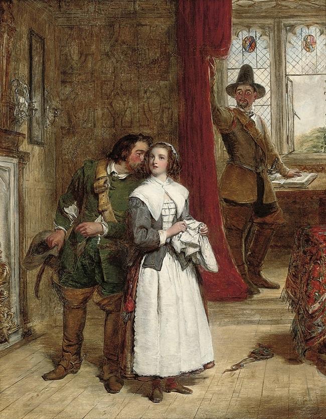 Дочь пуританина