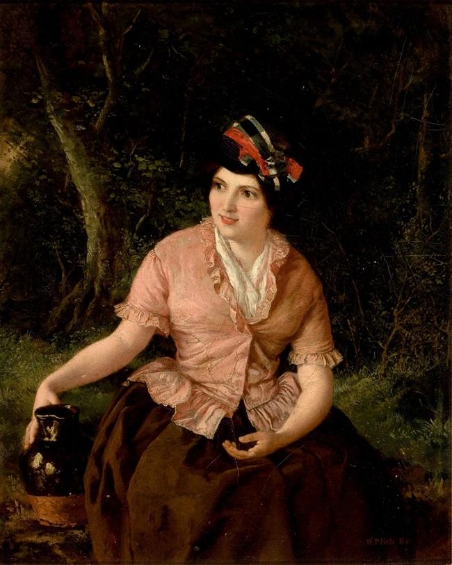 Женщина с кувшином