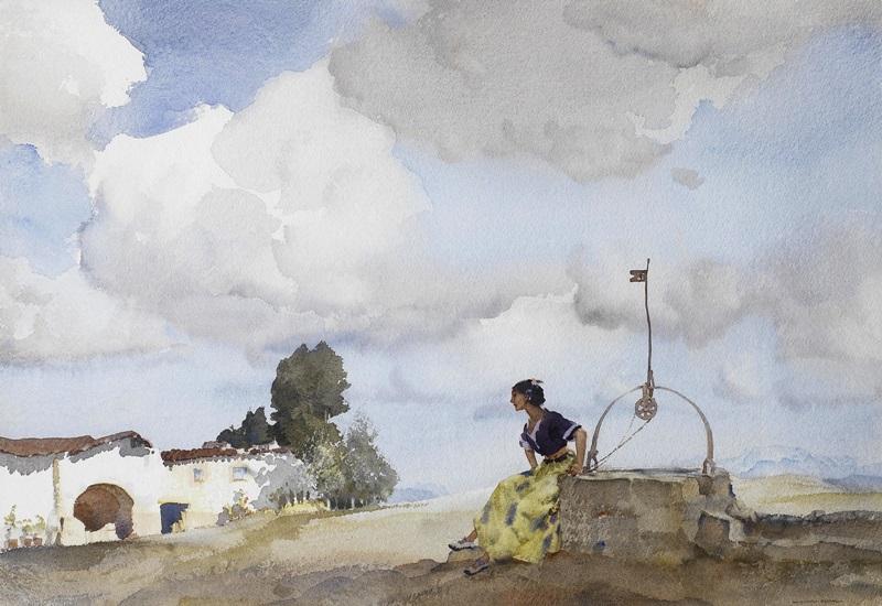 Девушка на Газиенде, Сьерра-де-Сегура