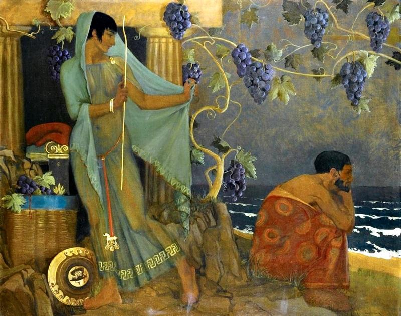 Калипсо и Одиссей