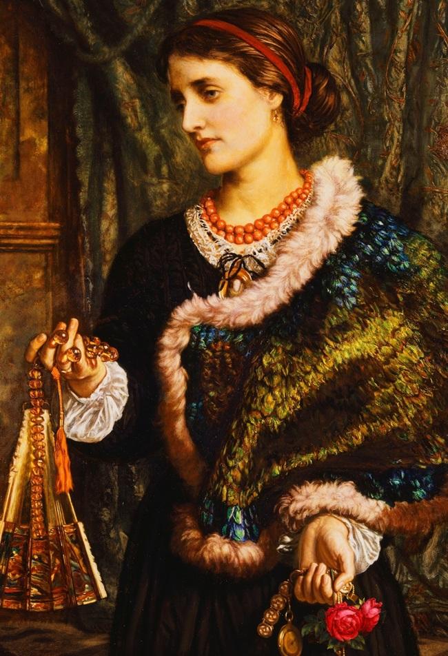 День рождения. Портрет второй жены художника Эдит