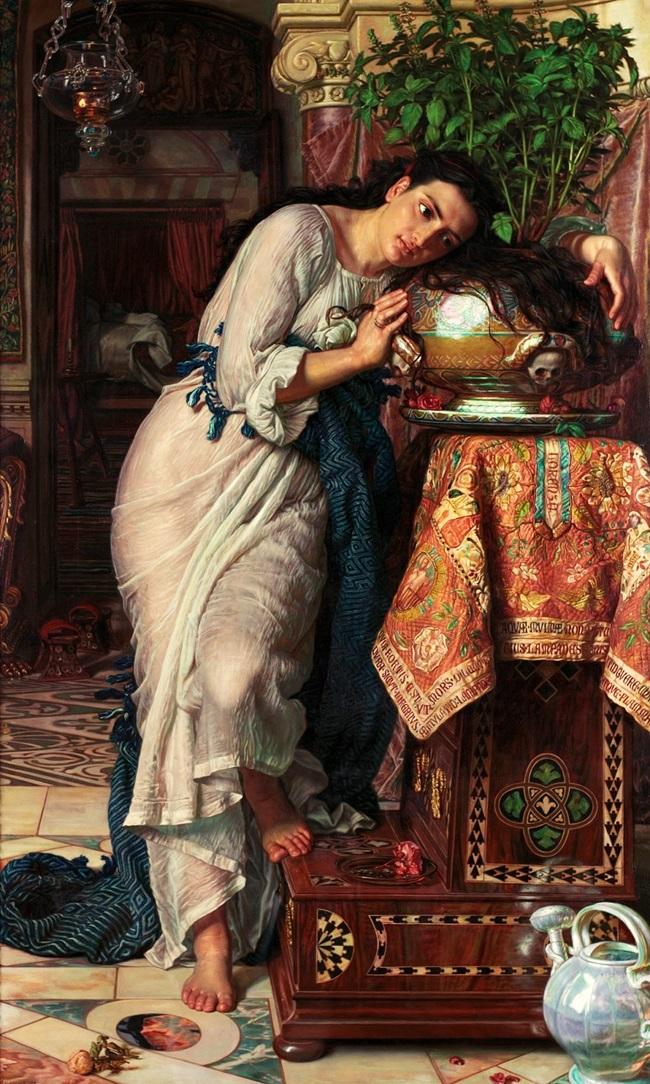 Изабелла и горшок базилика