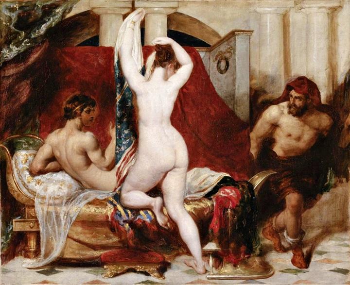Кандал, царь Лидии, его жена и министр