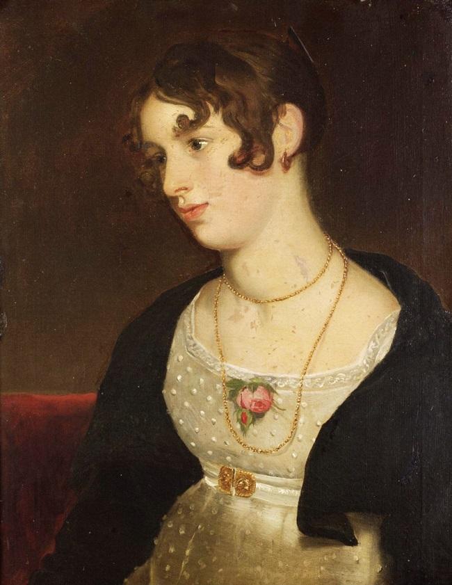 Портрет Китти, племянницы художника
