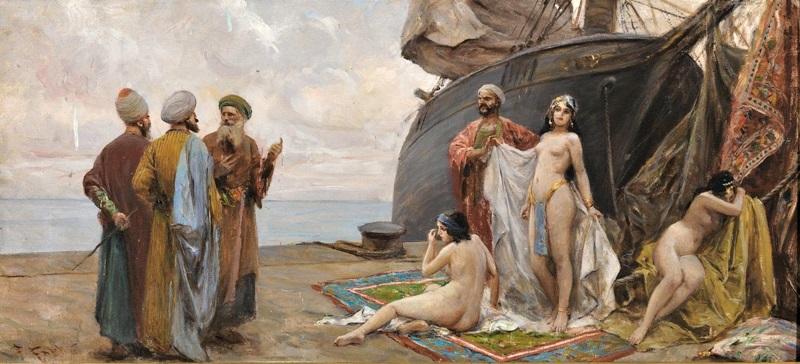 Продажа рабынь