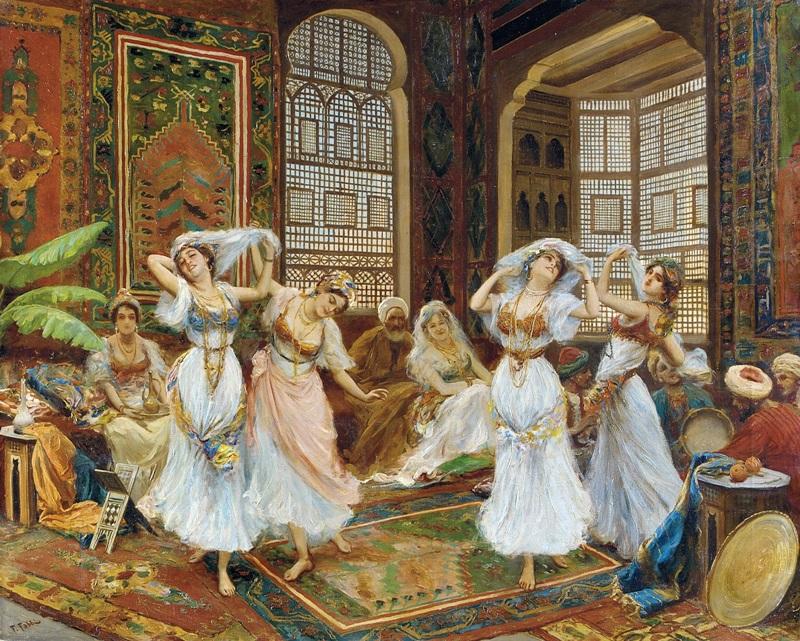 Танцовщицы в гареме