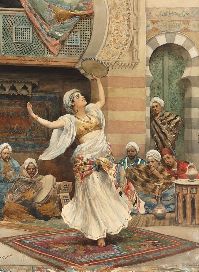Танцовщица с тамбурином