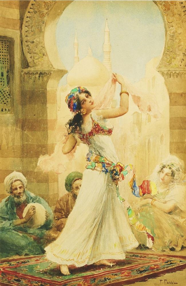 Танцующая красавица