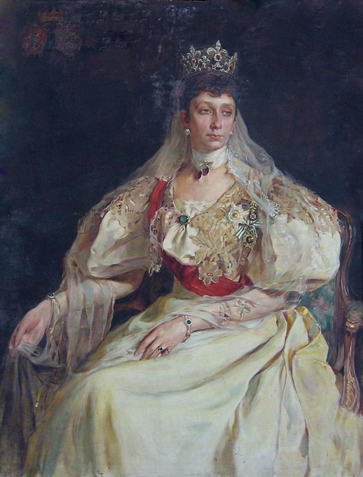 Мария Луиза Бурбон-Пармская, княгиня Болгарии
