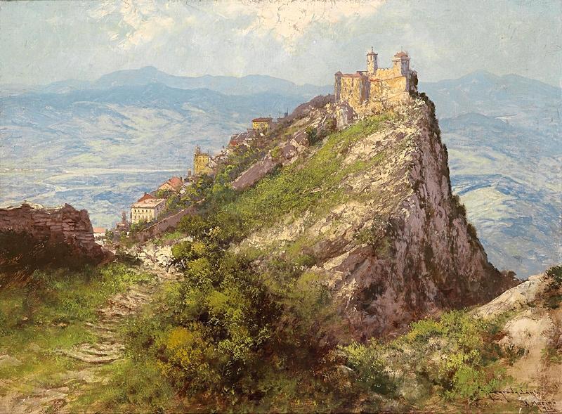 Вид Сан-Марино.