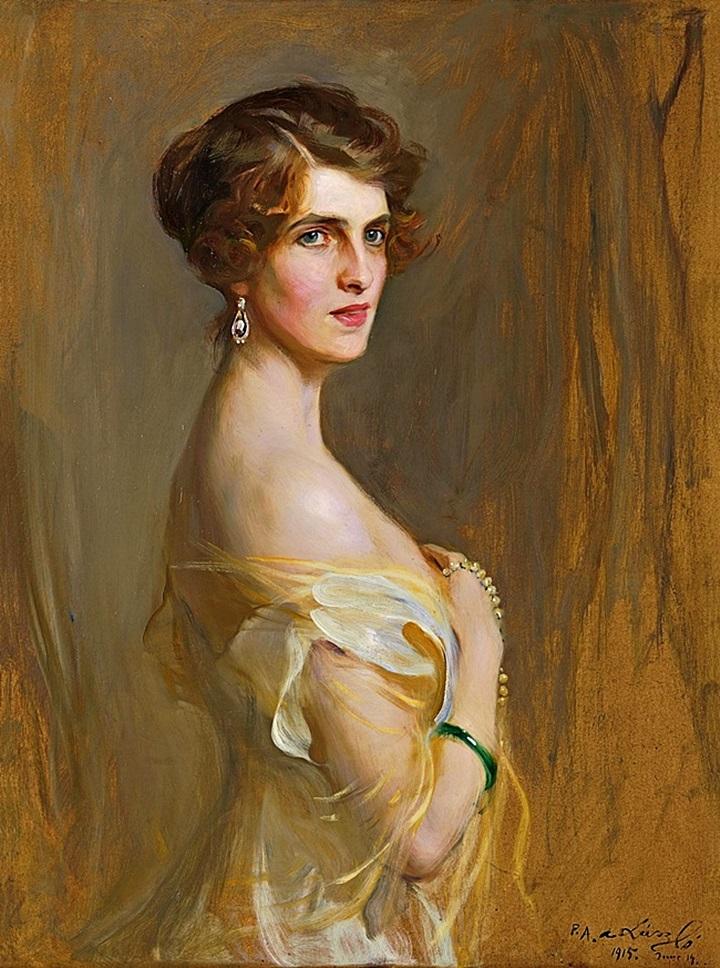 Портрет виконтессы Чаплин, урожденной Глэдис Уилсон