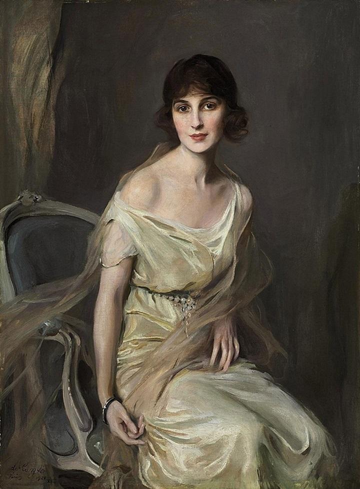 Портрет доньи Марии Мерседес де Альвеар