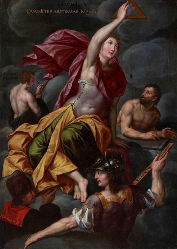 Серия Аллегории добродетелей и свободных искусств