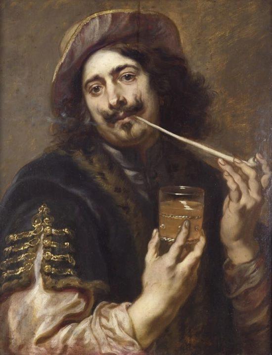 Мужской портрет, возможно,Адриан Брауэр