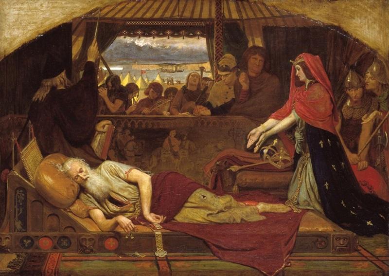 Корделия у постели короля Лира
