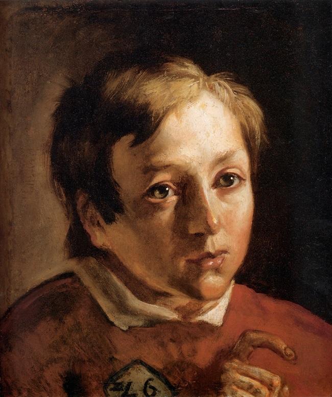 Голова мальчика-слуги