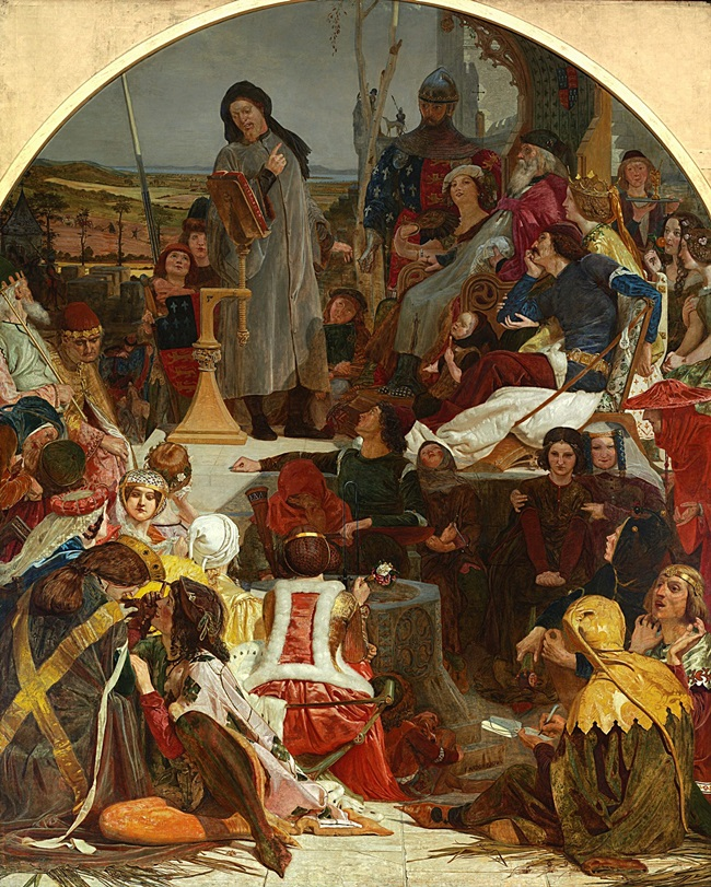 Чосер при дворе Эдуарда III