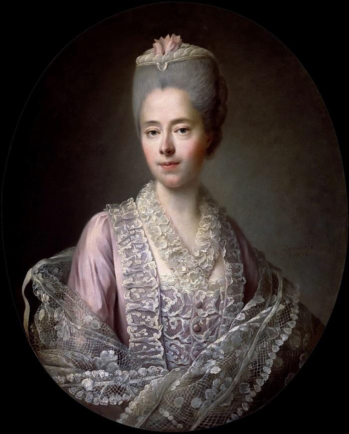 Гийеметта Мулен де ла Расиньер, мадам д' Анжо