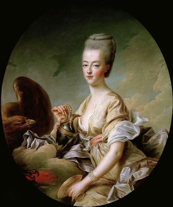 Дофина Мария-Антуанетта (1755-93), в образе Гебы
