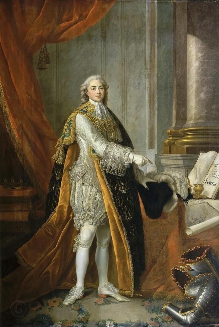 Луи-Станислас-Ксавье Французский (1755-1824), граф Прованский