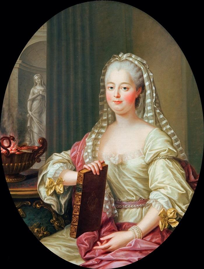Маркиза де Помпадур в образе весталки