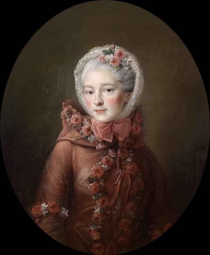 Портрет молодой женщины, традиционно приписываемый принцессе Наталье Петровне Галициной