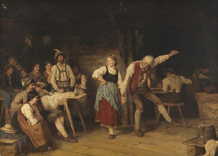 Дедушкин урок танца