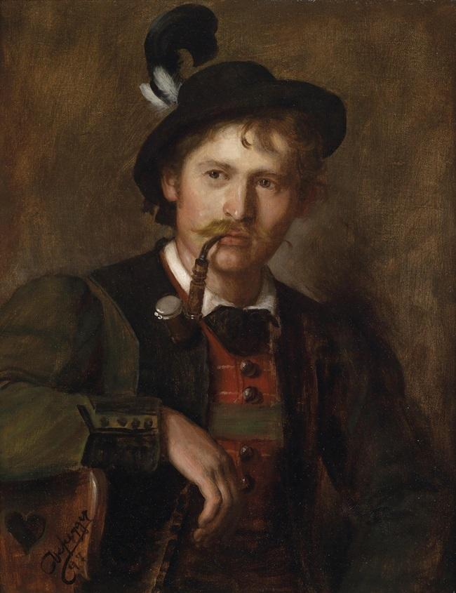 Портрет молодого тирольца