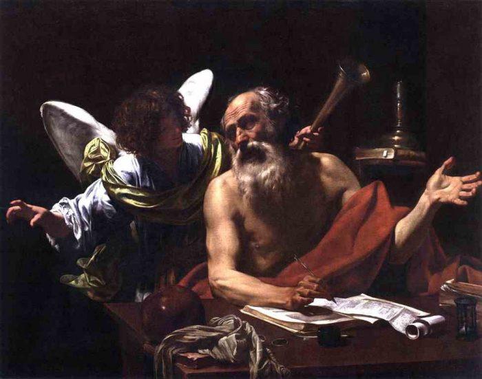 Святой Иероним и ангел