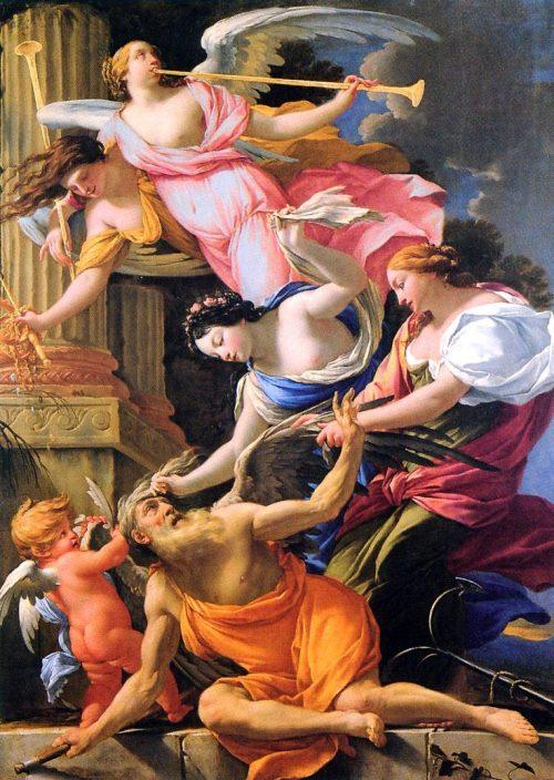 Сатурн, побеждённый Венерой и Надеждой