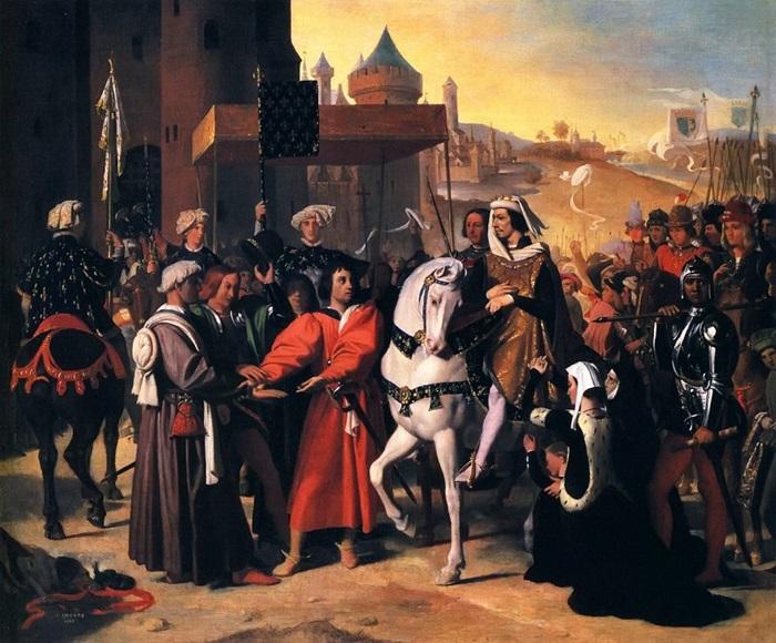 Въезд дофина, будущего короля Карла V, в Париж