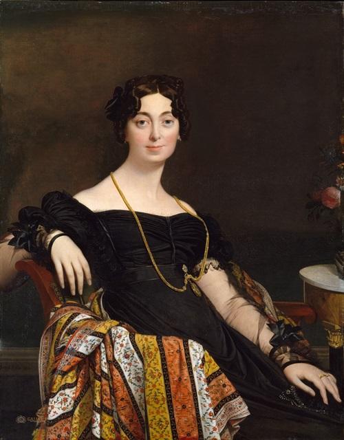 Мадам Жак-Луи Леблан (урожденная Франсуаза Понсель, 1788-1839)