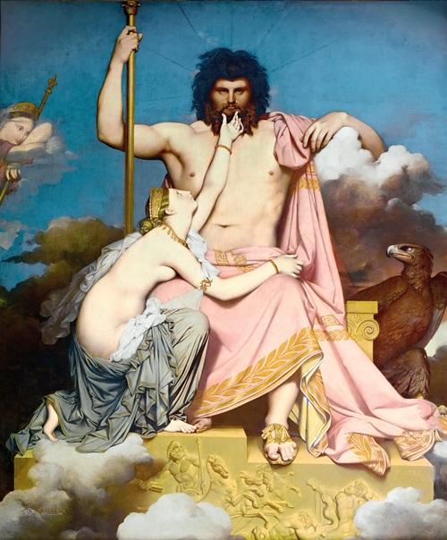 Юпитер и Фетида.