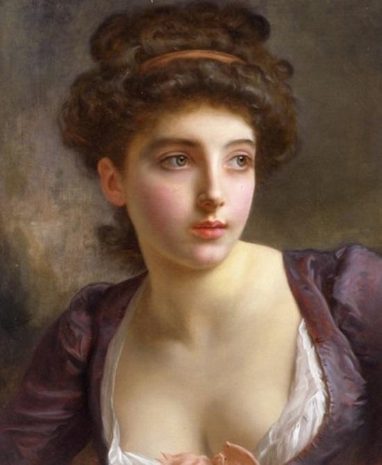 Портрет неизвестной молодой женщины