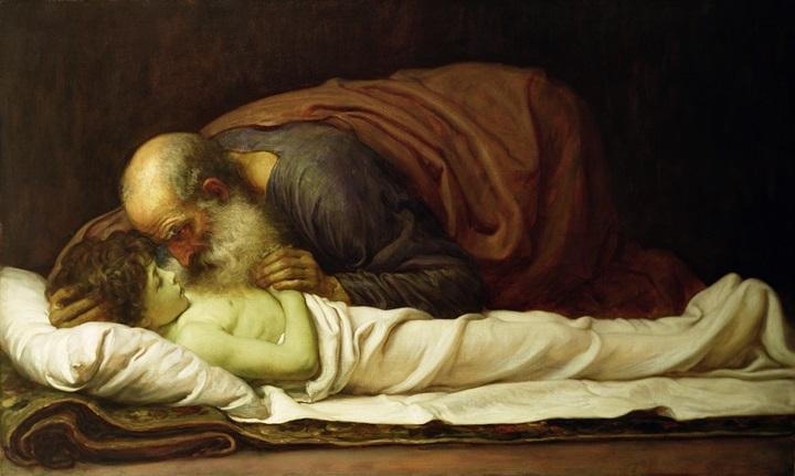 Елисей воскрешает сына сунамитянки