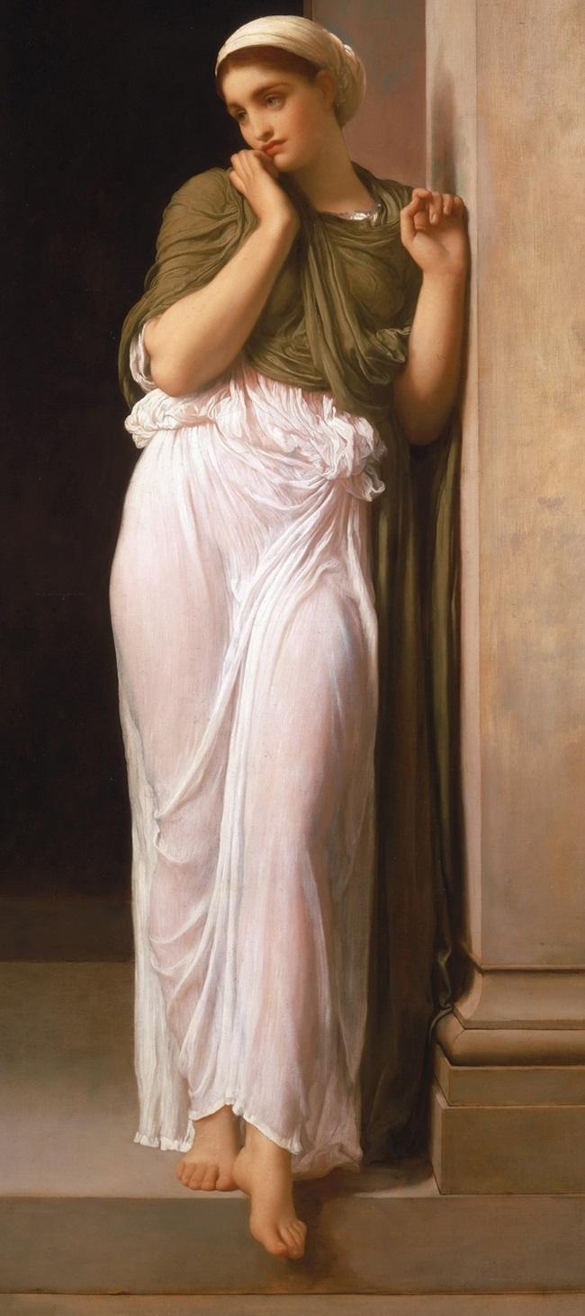Навсикая, дочь Алкиноя, царя феаков, оказавшего гостеприимство Одиссею
