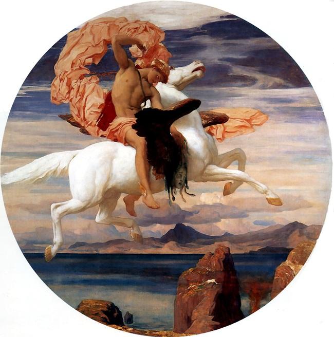 Персей спешит на спасение Андромеды