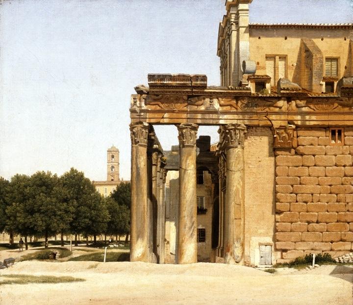 Вид на Виа Сакра, Рим.