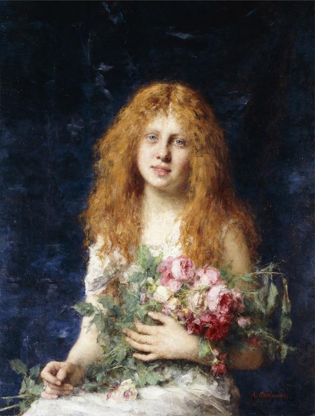 Белокурая роза