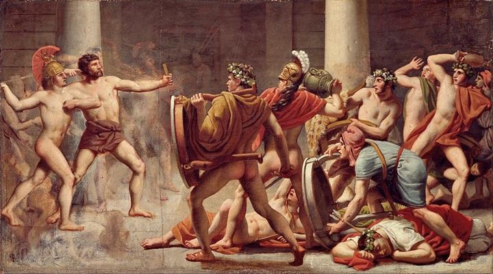 Месть Одиссея женихам Пенелопы.