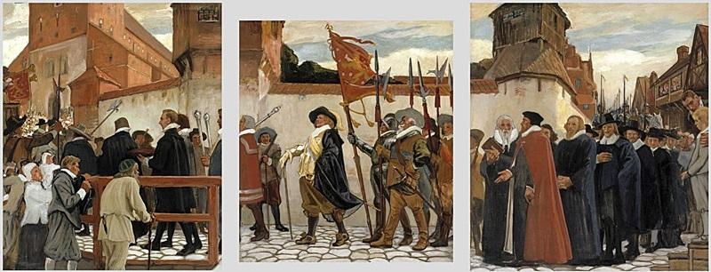 Торжественное открытие университета в Турку в 1640 г.