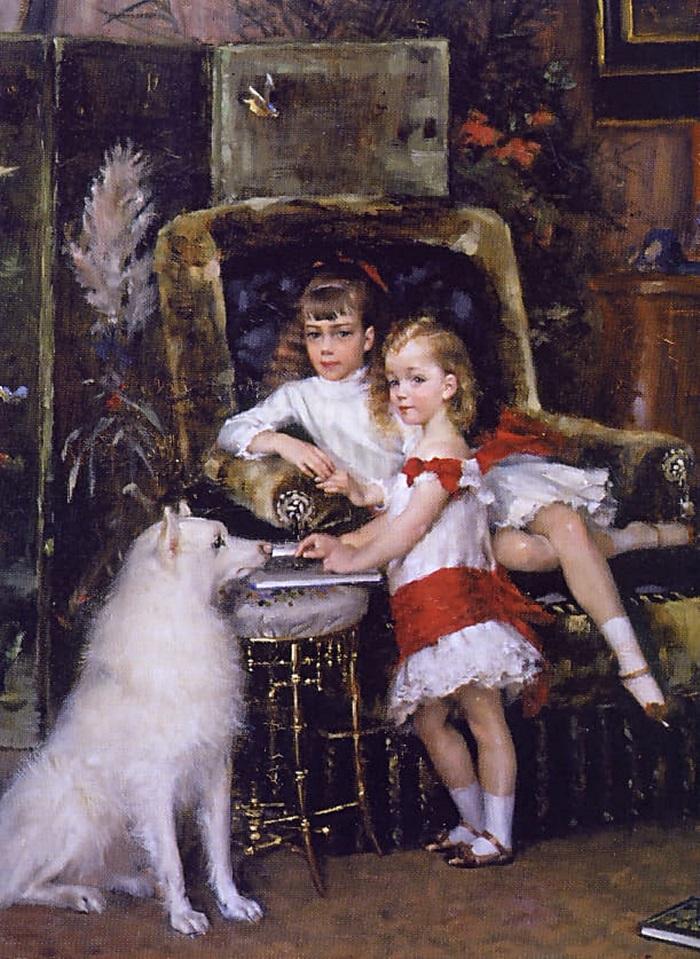 Дети царя Александра III