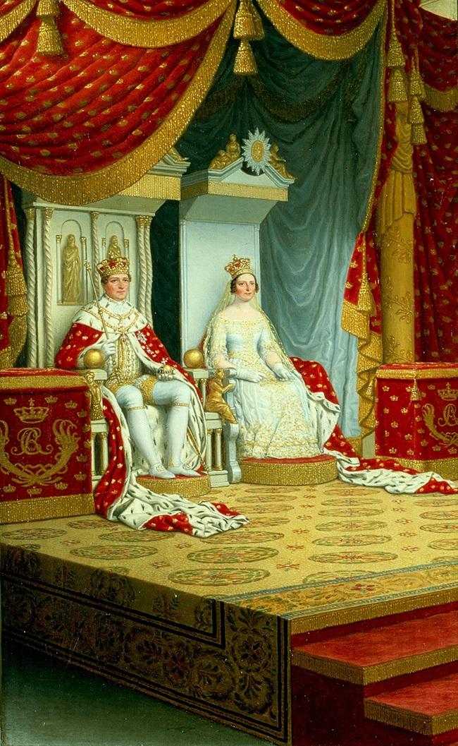 Помазание короля Кристиана VIII.
