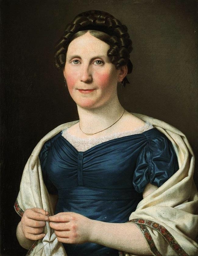 Портрет г-жи Вад.